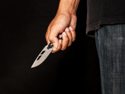 У агрессора оказался нож