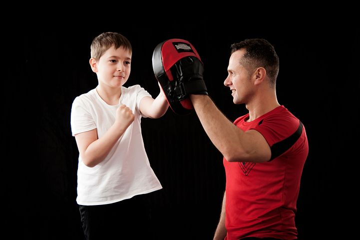 Научи своего ребенка самообороне