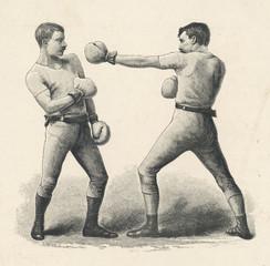 Классика джеб - основа любого бойца