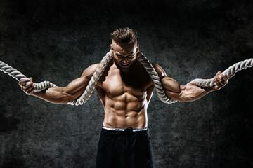 6 упражнений с канатом для новичков