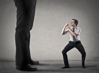 Что делать, если Ваш соперник больше и сильнее вас
