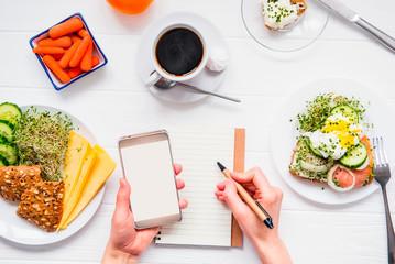 Базовые принципы как считать калории в течении дня