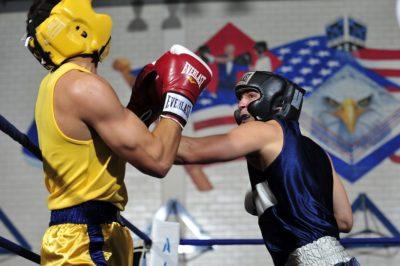 Какие шлемы используются на тренировках и в любительском боксе