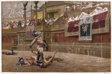 Почему был Колизей главной бойцовской ареной мира