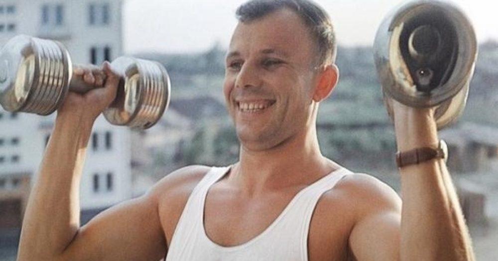 Действительно Юрий Гагарин был таким сильным и выносливым