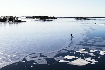 Что делать, если под вами провалился лед