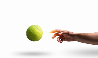 Как развить скорость и реакцию с помощью теннисного мяча