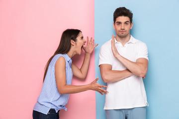 Что делать мужчине, если женщина начинает драку
