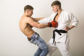 Что и кому выбрать бокс или самбо