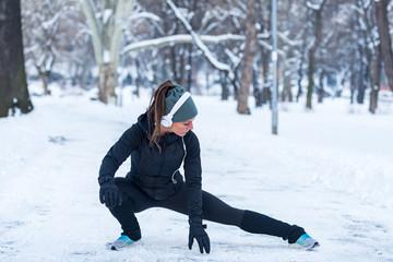 Что нужно соблюдать, если решили тренироваться зимой на улице