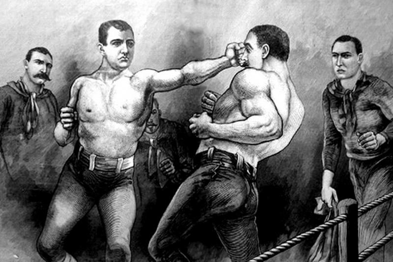 Каким был последний запрещенный поединок за титул чемпиона мира по боксу без перчаток