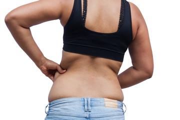 Как избавиться от складок на спине
