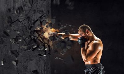 Как наработать удар кулака силой в тонну