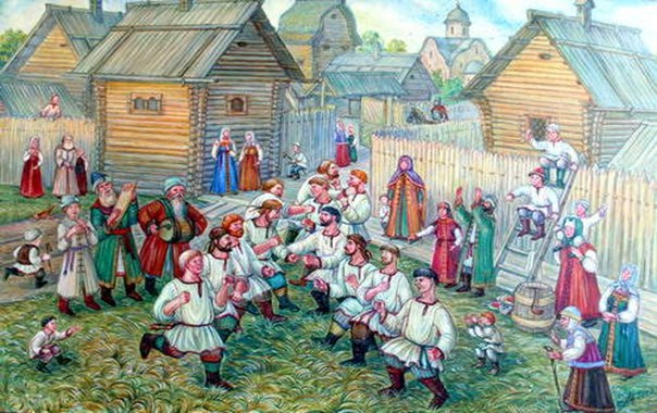 Древняя русская забава, как она проходит в сегодняшней России