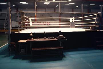 Как появился ринг для боксерских поединков
