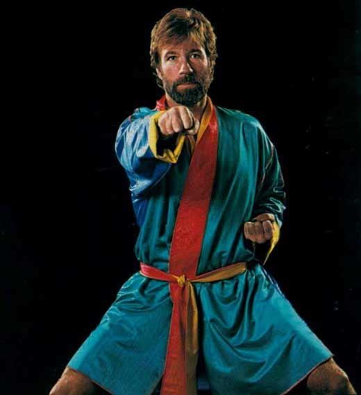 Легенда Чак Норрис на тропе боевых искусств
