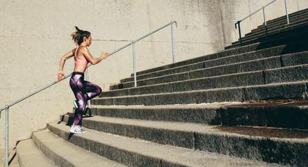 Возможно ли похудеть при беге на ступеньках