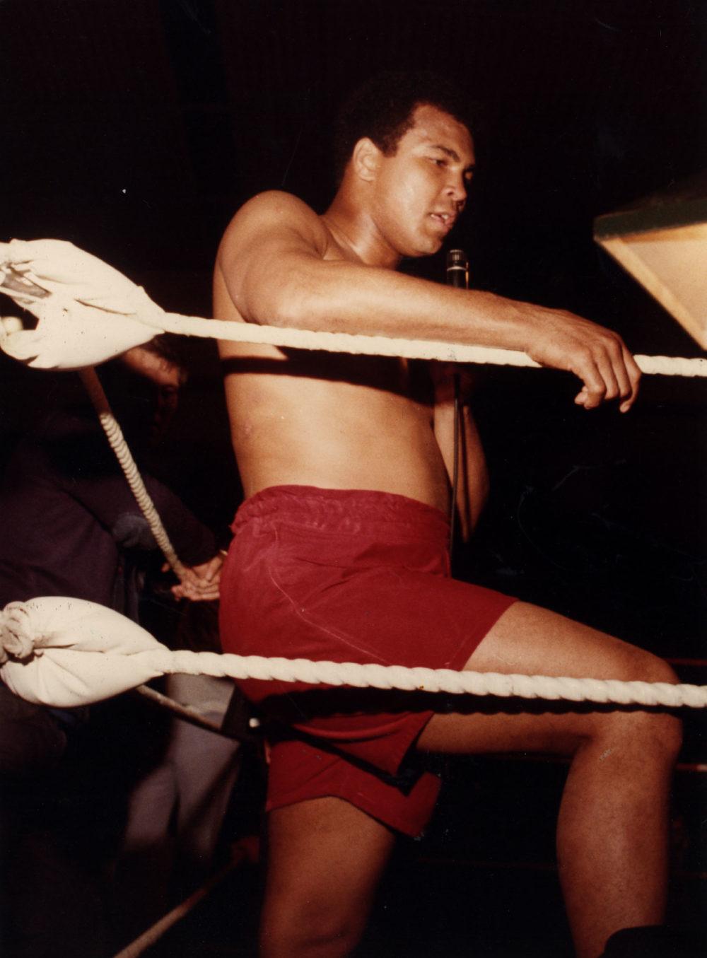 Поездка Мухаммеда Али в СССР в преддверие Олимпиады