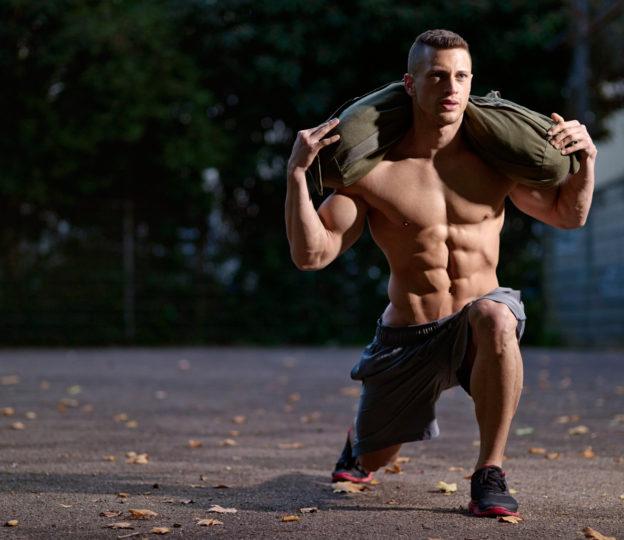 Упражнения для бойцов со снэдбэгом