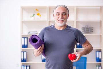 Упражнения для тех, кому за 60 для поддержания здоровья