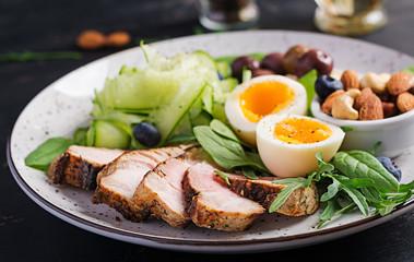 В каких продуктах в достаточном количестве присутствует белок