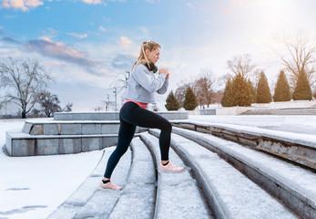Рекомендации, как получить максимальный эффект от занятий спорта на морозе