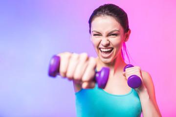 Можно ли прокачать все мышцы с помощью 2 гантель