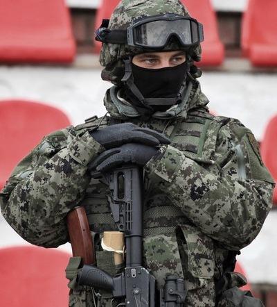 Отважные и сильнейшие бойцы России