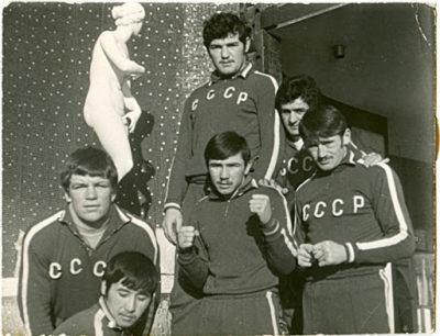 Как же тренировались бойцы советского времени