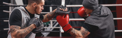 Ударники против борцов, кто же сильнее