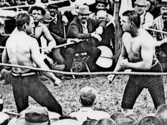 Запрещенные бои 1889 года, что интересного произошло в то время