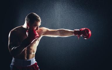 Какие мышцы задействованы при ударе, с точки зрения физиологиим