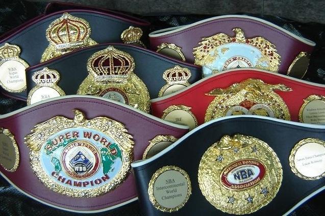 Что надо знать о поясах федерации в мире бокса