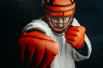 Каким должен быть шлем бойца