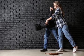 Как защитить себя в уличной драке