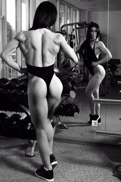 Большие мышцы женщин культуристок