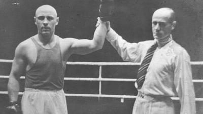 Лучший боксер Советского Союза конца 30-х годов прошлого столетия
