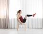 Какие упражнения можно выполнить с обычным стулом