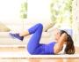 Комплекс «ленивых» упражнений поможет поддержать тонус мышц