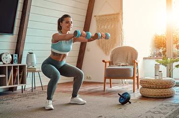 6 наиболее эффективных упражнений с гантелями для тонуса мышц