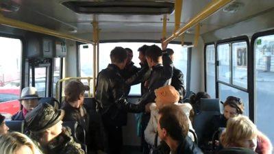 Почему агрессивно настроенные лица пытаются создать конфликт в общественном транспорте