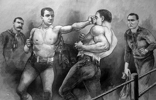 Что произошло в 1889 году на запрещенных боях по боксу