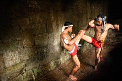 Древнее камбоджийское единоборства Бокатор