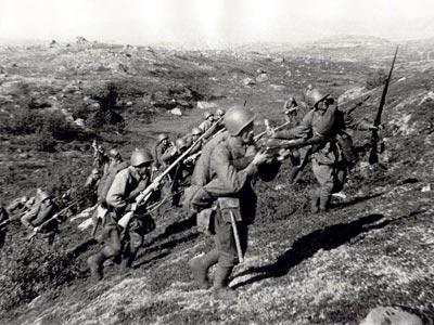 Какие известные рукопашные схватки были в период Великой Отечественной Войне